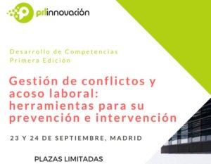 curso gestion de conflictos y acoso laboral